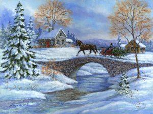 chrsmas horses